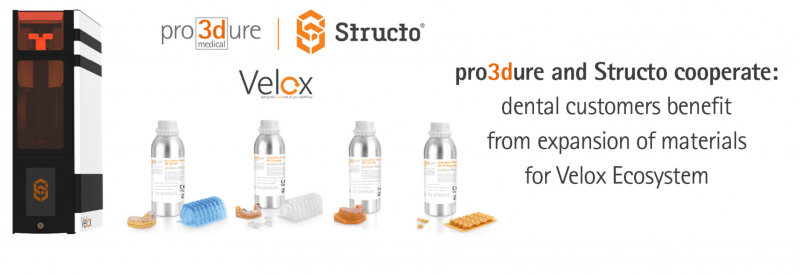 https://3dprint.com/262961/structo-pro3dure-partnering-dental-customers-benefit-from-expansion-of-materials-for-velox-ecosystem/